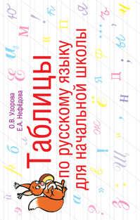 книга Таблицы по русскому языку для начальной школы