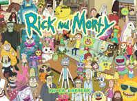книга Рик и Морти. Книга наклеек (Стикербук)